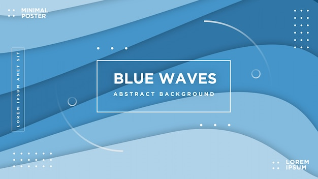 Priorità bassa variopinta variopinta dinamica vibrante dell'onda