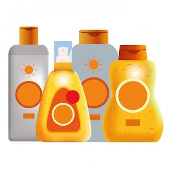 Prodotti cosmetici abbronzanti
