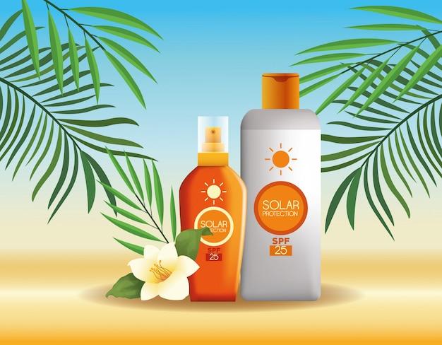 Prodotti per la protezione solare per l'estate