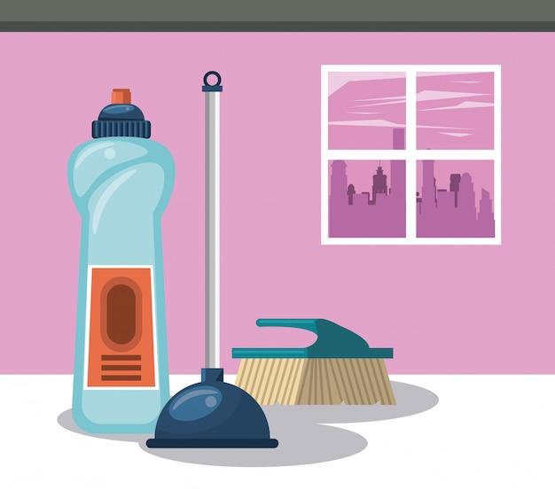 Prodotti per la pulizia di cartoni per la casa