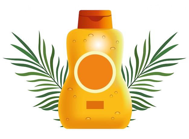Prodotto cosmetico per borraccia sun