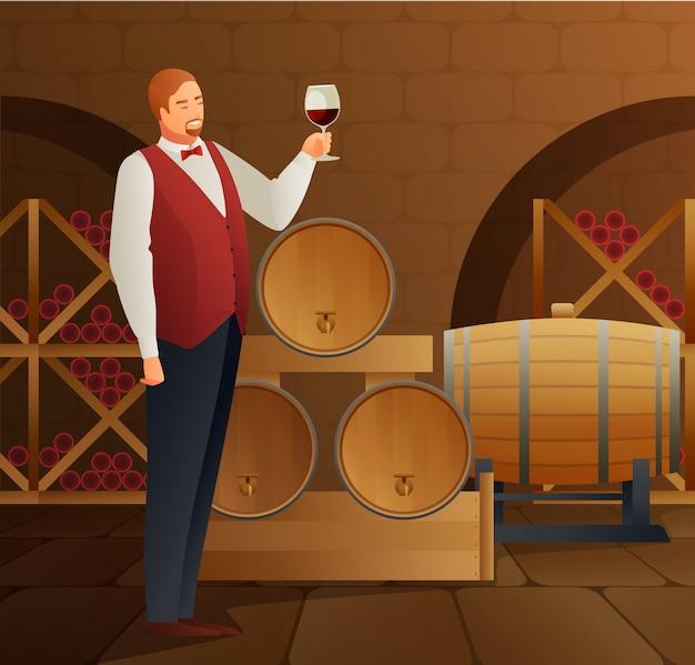 Produzione di vino