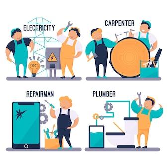 Professioni domestiche e ristrutturazioni