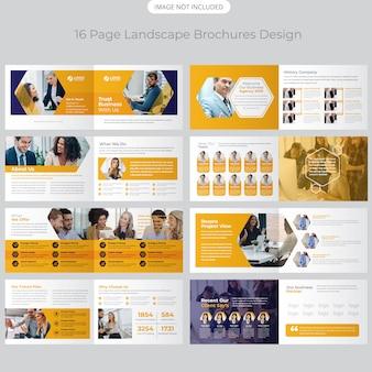 Profilo aziendale design brochure