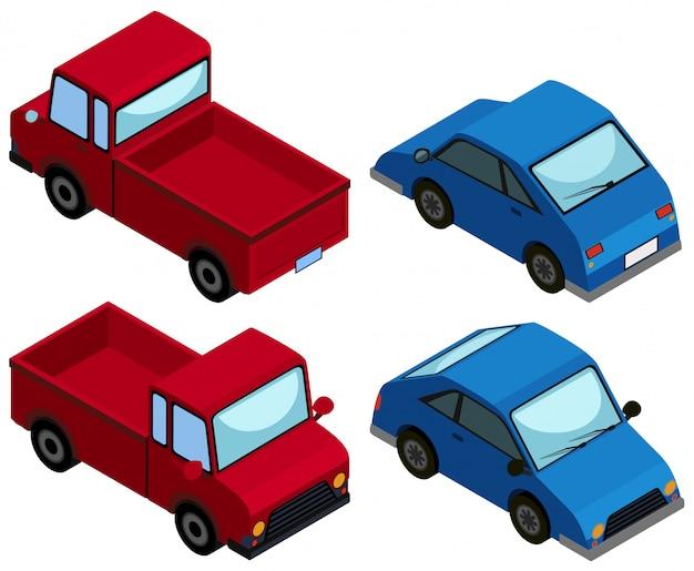 Progettazione 3d per camion e auto