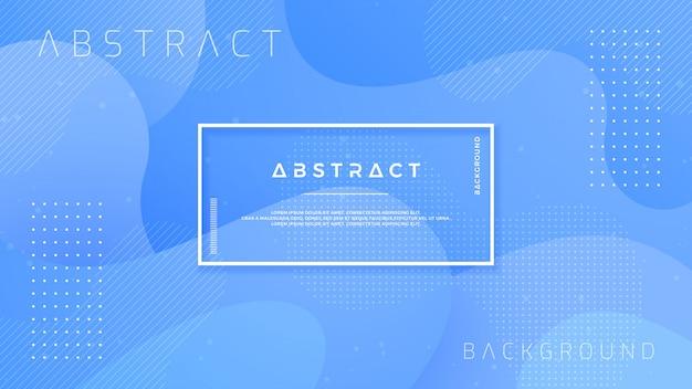 Progettazione blu strutturata del fondo nello stile 3d.
