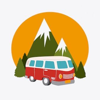 Progettazione del campeggio