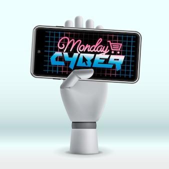 Progettazione del concetto di cyber monday