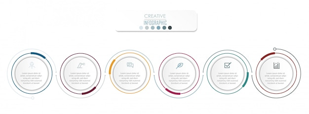 Progettazione del diagramma infografica