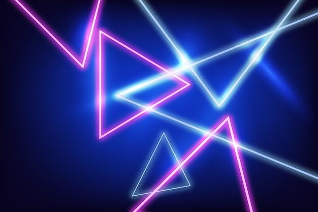 Progettazione del fondo delle luci al neon