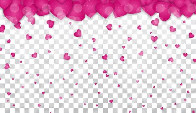 Progettazione del fondo di amore e di sensibilità di giorno di biglietti di s. valentino.