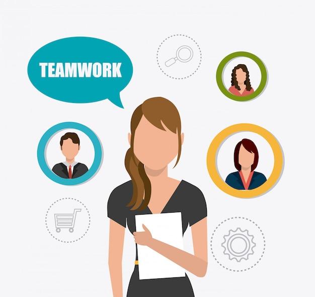 Progettazione del lavoro di squadra.