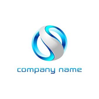 Progettazione del logo della lettera s.