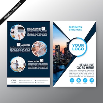 Progettazione del modello di brochure aziendale