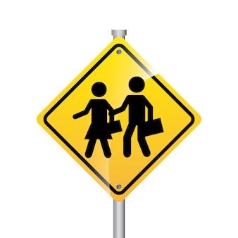 Progettazione del segnale stradale