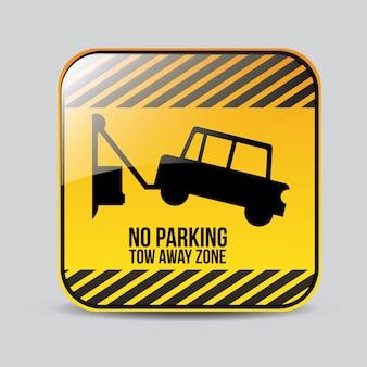 Progettazione del segno di parcheggio