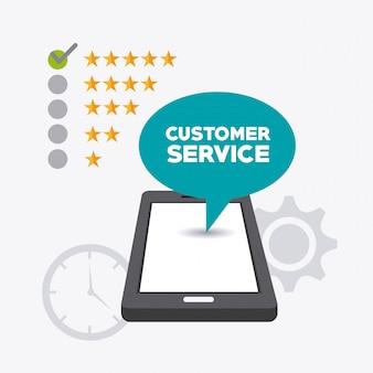 Progettazione del servizio clienti.