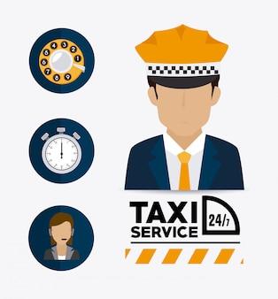 Progettazione del servizio taxi.