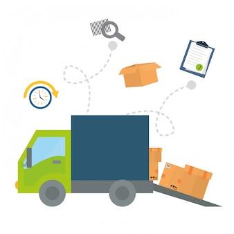 Progettazione del trasporto logistico