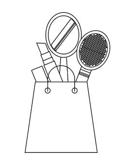 Progettazione dell'icona di acquisto, grafico dell'illustrazione eps10 di vettore