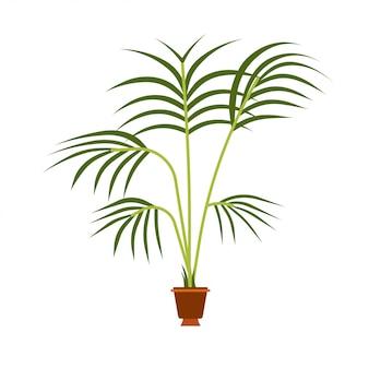 Progettazione dell'illustrazione dell'albero della natura di verde della pianta della foglia.