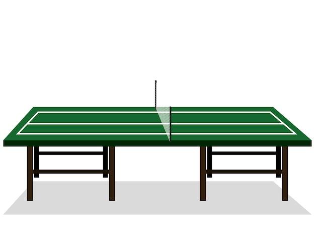 Progettazione dell'illustrazione di vettore dell'icona della tavola di ping-pong