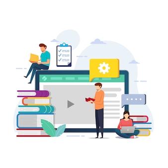 Progettazione dell'istruzione per il corso online