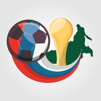 Progettazione della coppa del mondo di calcio russia