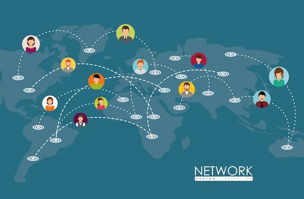 Progettazione della rete.