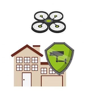 Progettazione della tecnologia dei droni