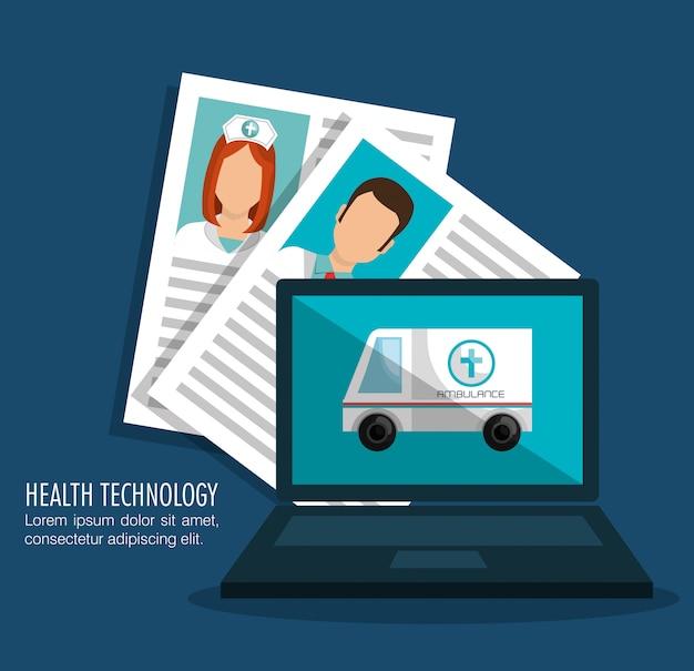 Progettazione della tecnologia sanitaria