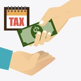 Progettazione delle tasse.