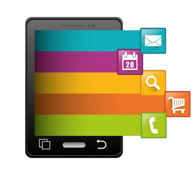 Progettazione di applicazioni per smartphone.