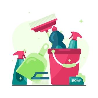 Progettazione di attrezzature per la pulizia delle superfici