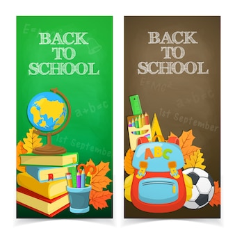Progettazione di banner di educazione