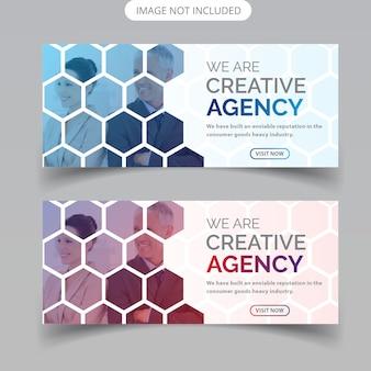 Progettazione di banner web aziendale
