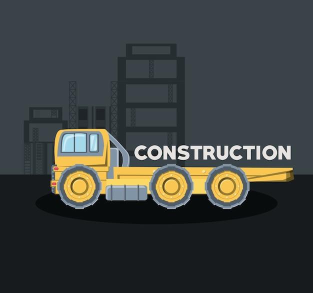 Progettazione di camion di costruzione