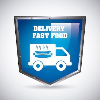Progettazione di consegna di cibo