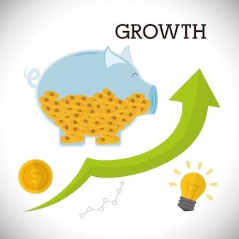 Progettazione di crescita finanziaria
