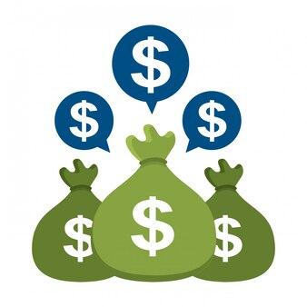 Progettazione di denaro.