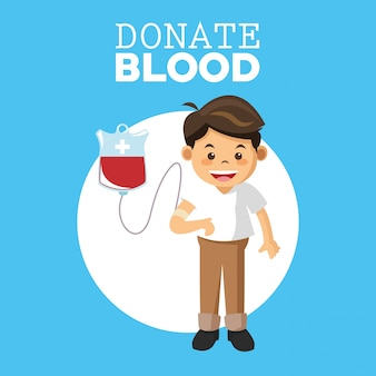 Progettazione di donazioni di sangue