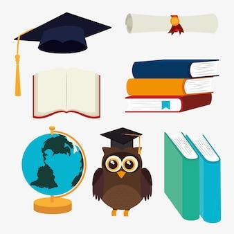 Progettazione di educazione, illustrazione vettoriale.