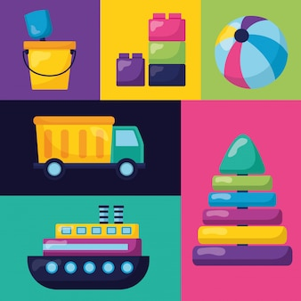 Progettazione di giocattoli per bambini