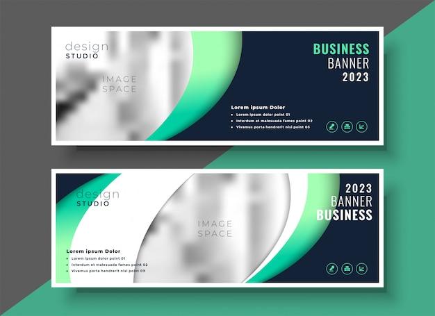 Progettazione di layout modello di business professionale banner