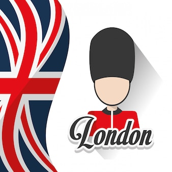 Progettazione di monumenti di Londra