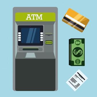 Progettazione di pagamento, illustrazione vettoriale.