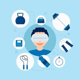 Progettazione di palestra virtuale