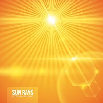 Progettazione di raggi solari.