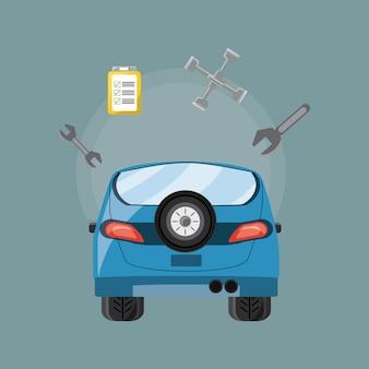 Progettazione di servizi automobilistici