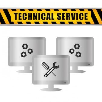 Progettazione di servizi tecnici.